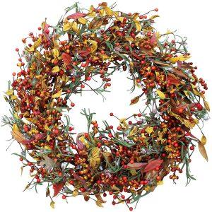 autumn fall decor wreath