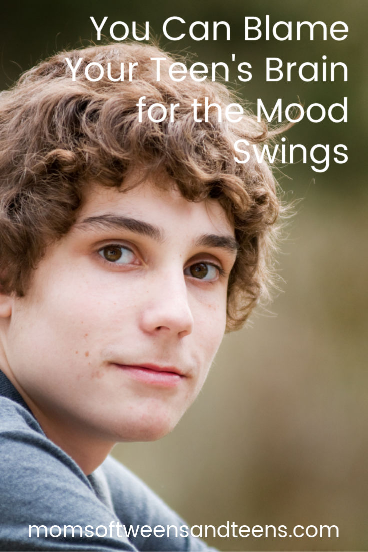 Your tween and teen's brain is not yet fully developed. They are prone to mood swings, irritability and impulsiveness. Not to mention they are forgetful and making risky decisions. But there is a reason. You can blame it on the teenage brain. #teen #tween #moodswings #impulsive #irritable #teenager