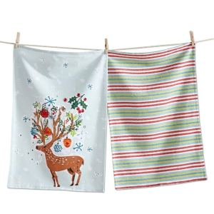 dish towels holiday hostess gift