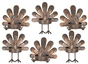 turkey tealight holders