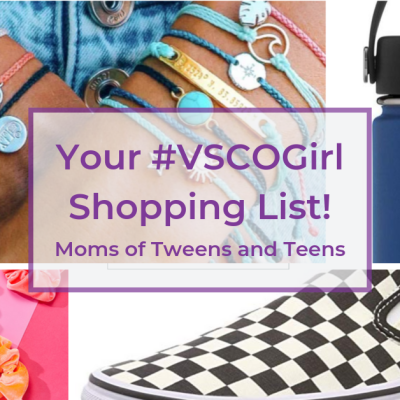 Your VSCO Girl Shopping List!