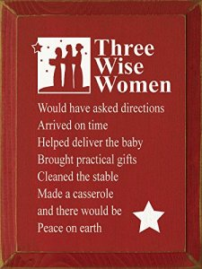 Three Wisemen Sign