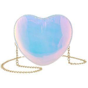 Hologram Heart Purse