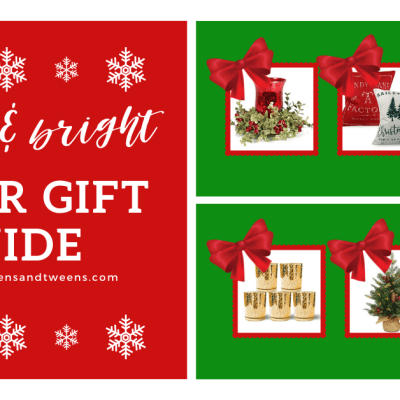 Make Your House Merry and Bright! Decorate For The Holidays!