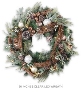 Realistic Grapevine Wreath
