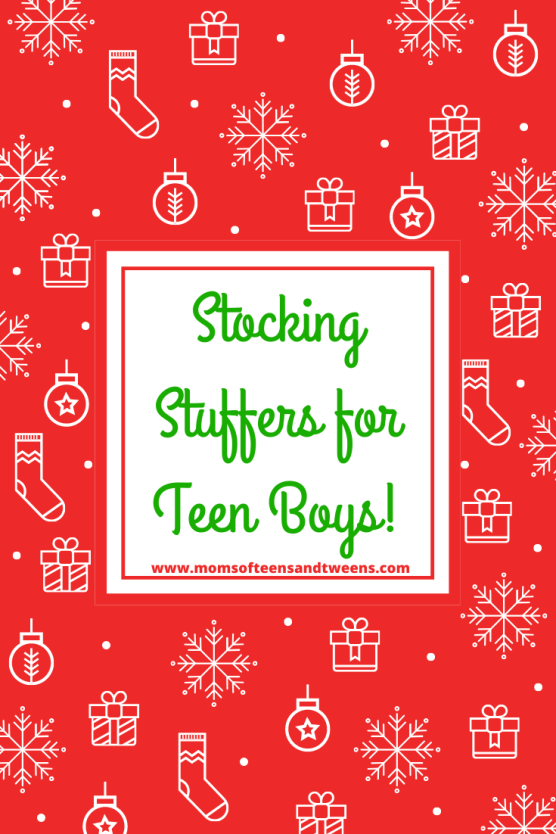 Stocking Stuffers for Teen Boys!