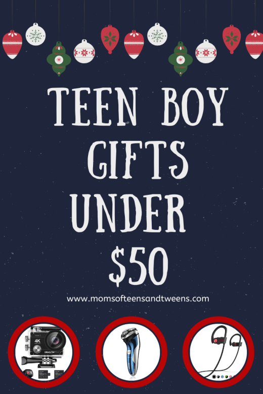Teen Boy Gifts Under $50