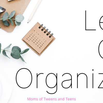 Let's Get Organized For Spring!