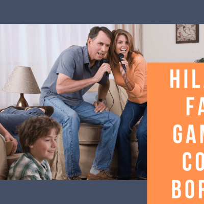 Hilarious Family Games to Combat Boredom!