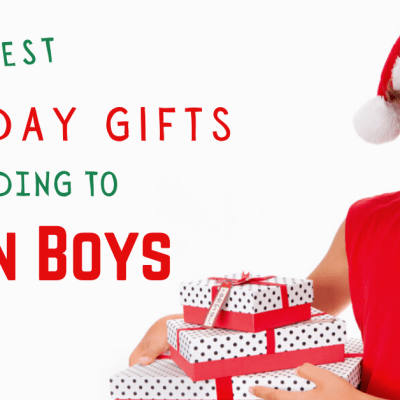 32 Best Holiday Gifts According To Teen Boys