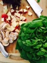 Salanova, Apple and Mushroom