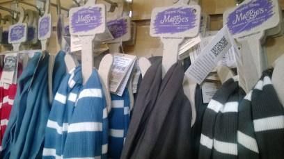 Organic cotton scarves