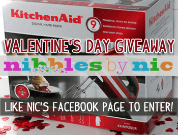 KitchenAid Hand Mixer Giveaway | Nibbles by Nic