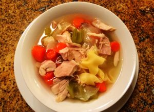 nana's easy kosher chicken noodle soup