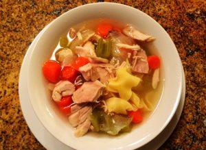 nana's easy kosher chicken noodle soup