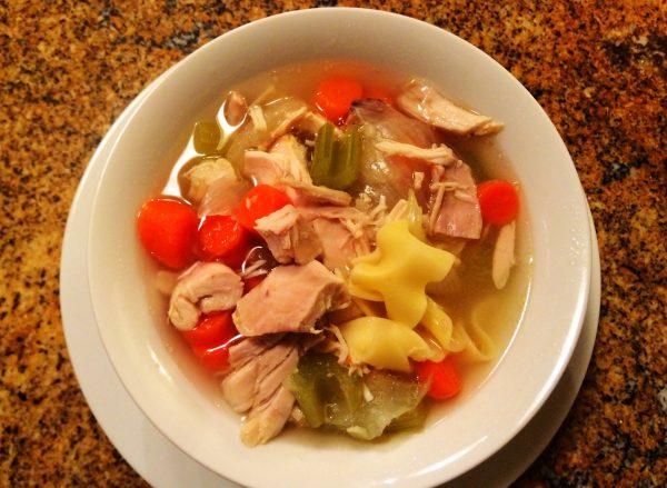 Nanas easy kosher chicken noodle soup recipe