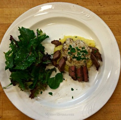Gourmet Cooking for Beginners-Filet Mignon with Mustard Cream Sauce