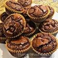 Peanut Butter Brownie Cupcake