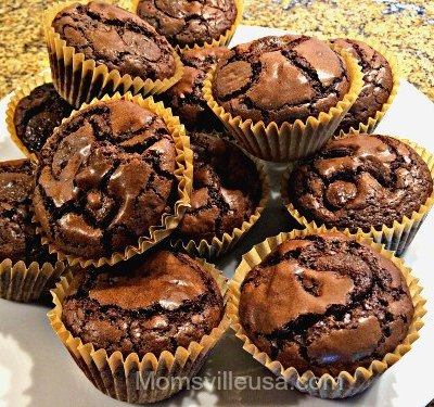 Happy Anniversary – Have a Peanut Butter Brownie Cupcake