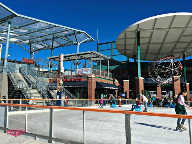 Ice Skating at Greater Nevada Field in Reno