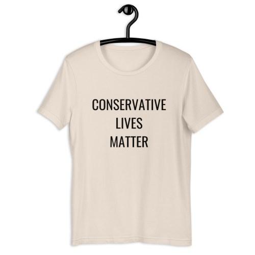 Conservative Lives Matter Short-Sleeve T-Shirt