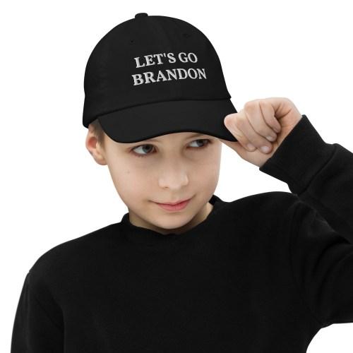 Let's Go Brandon Youth Baseball Cap