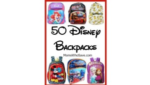 50 Disney Backpacks for Back-to-School