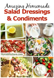 25 Amazing Salad Dressing and Condiment Recipes