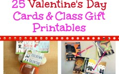 Valentine's Day Cards & Gifts Printables