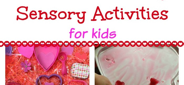 25 Valentine's Day Sensory Activities for Kids