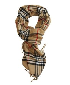 Classic Plaid Cashmere-Feel Scarf UNDER $5 Shipped