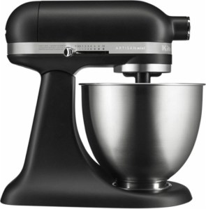 New KitchenAid Artisan Mini Stand Mixer — The Same Powerful Performance in a Smaller Size