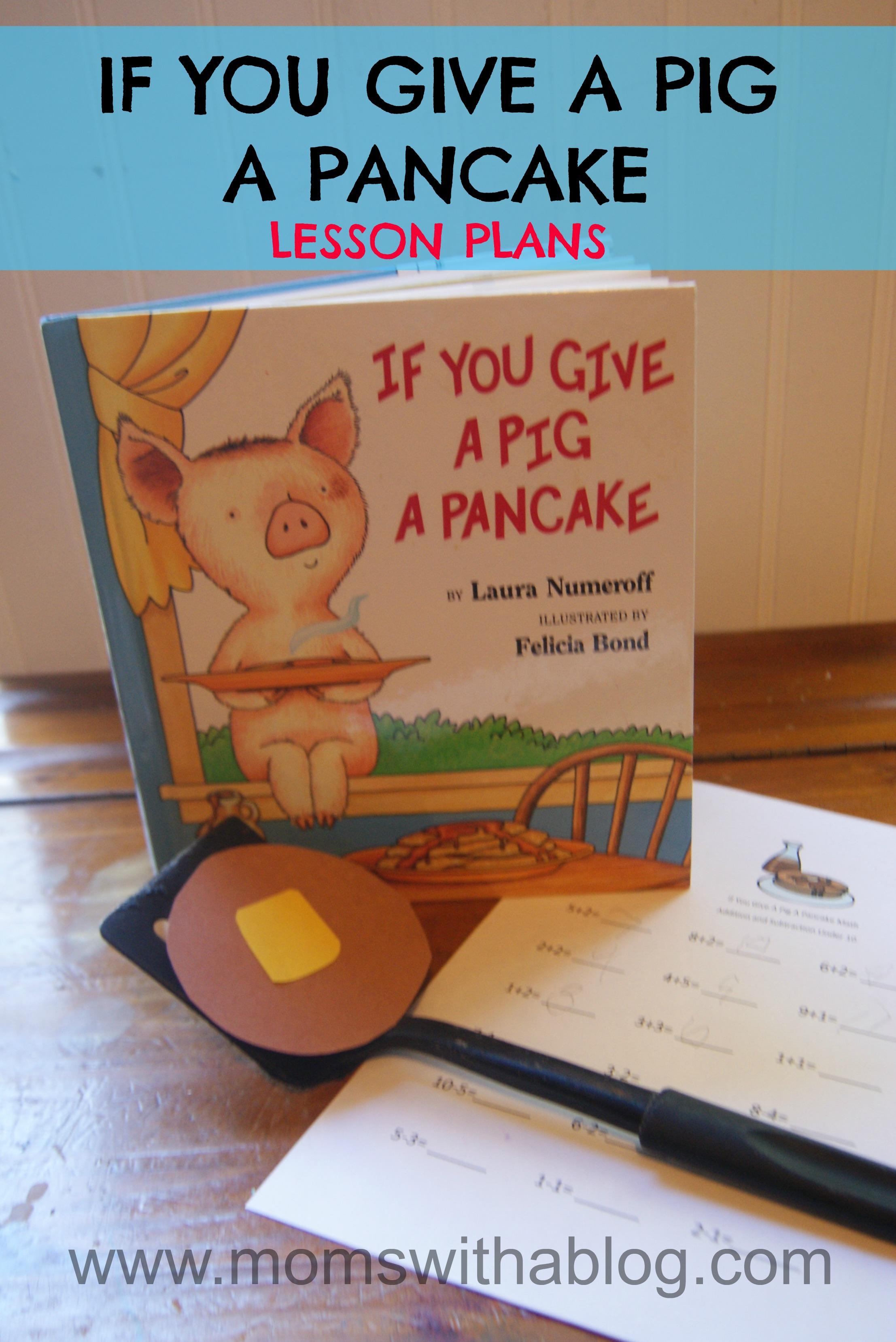 Homeschool Unit Study If You Give A Pig A Pancake