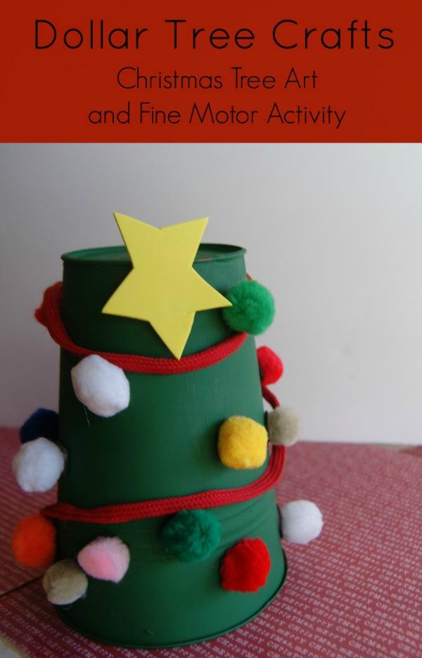 Christmas Craft For Fine Motor Skills