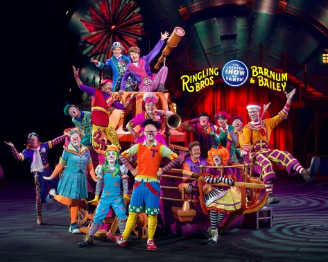Ringling Bros. Group Clown