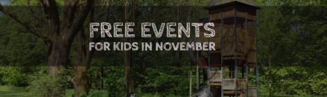 Free Events for Kids in November