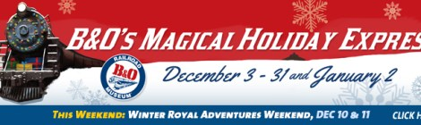 Friday Flash Giveaway for the B&O Magical Holiday Express