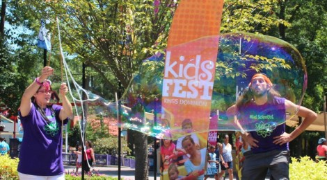 Little Ones Will Go Wild at Kings Dominion's KidsFest
