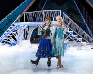 disney on ice presents frozen_DC_Anna and Olaf Anna and Elsa
