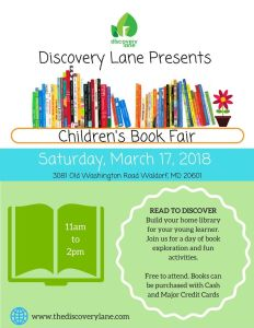 Discovery Lane Book Fair - Waldorf