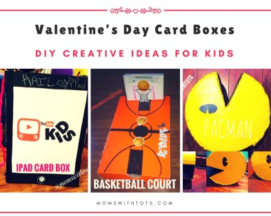 Valentines Day Card Boxes - Moms with Tots