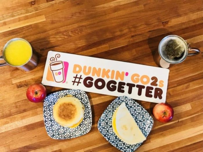 Dunkin Donuts Go Getters Moms with Tots