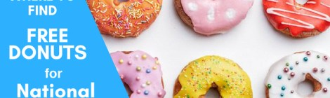 national donut day freebies