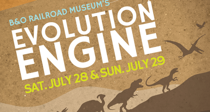 Evolution Engine at B&O Railroad Museum + {Giveaway}