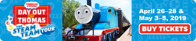 DAY OUT WITH THOMAS AT THE B&O 2019 + {GIVEAWAY} | Moms With