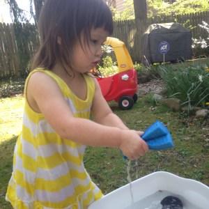 water sensory bin 4