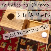 Activities for Infants 6 to 12 Months -- Object Permanence