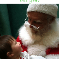 Why We Won't Be Sitting on Santa's Lap This Year