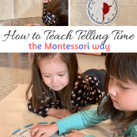 How to Teach Telling Time the Montessori Way