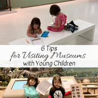 6 Tips for Visiting Museums with Young Children
